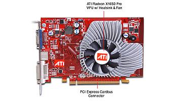 ATI Radeon X1650 Pro vs. Nvidia GeForce 7600GS